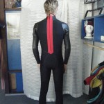 3/2 Surf suit with red detail
