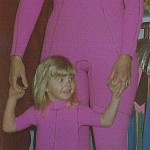 Pink Twins wetsuits