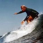Surfing wetsuit