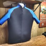 Surf Jacket with Blue Custom Design
