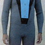 Custom Tuxedo Styled Wetsuit