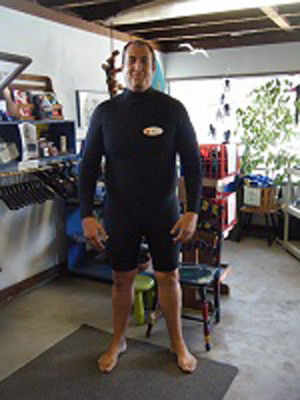 All Black Spring Wetsuit