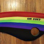 Rainbow Doggie Wetsuit
